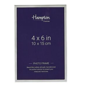 Classic Simple Design 5mm Wide Silver 4x6 5x7 6x8 8x10 Photo Picture Frame