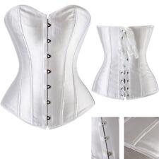 Women Floral Burlesque Overbust Boned Corset Party Lingerie Shapewear Hot Sale R