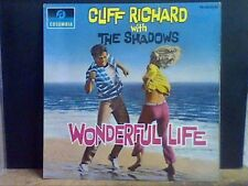 CLIFF RICHARD WITH THE SHADOWS   Wonderful Life  L.P.  (Mono)