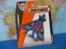 MATCHBOX MBX SKYBUSTERS BACKDRAFT AIRPLANE BRAND NEW & VHTF