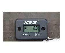 KSX Betriebsstundenzähler Stundenzähler Schwarz universal Induktion Induktiv