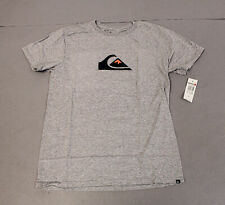 Quiksilver Men's Comp Logo Short Sleeve T-Shirt SC4 Athletic Heather Medium NWT