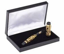 Dragon 3D Design Fountain Pen with Gift Box