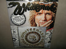 WHITESNAKE Forevermore LIMITED EDITION CD PACK w POSTER & METAL BADGE & MAGAZINE