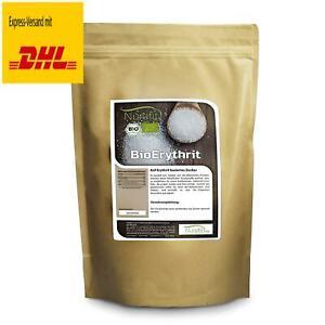 BIO Erythrit 1kg, Zuckerersatz ohne Kalorien, Natürliche Zuckeralternative I Oh