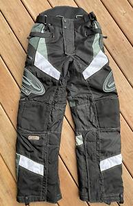 Castle X Racewear Snowmobile Snow Pants Thermolite Black/Olive Ladies S NWOT