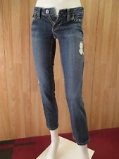 AUTH WILLIAM RAST SADIE DUSK WASH STRAIGHT LEG WOMEN JEANS SZ 24 X 28 VIC-THOR1