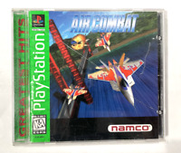 Air Combat SONY PLAYSTATION 1 PS1 GAME COMPLETE CIB TESTED ++ WORKING