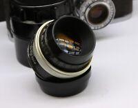 Vintage Super Macro INDUSTAR-23U 4.5/110 Soviet USSR Lens m39 Enlarger I23