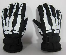 Skeleton Winter Gloves Thinsulate - Halloween Size Boys / Girls S/CH