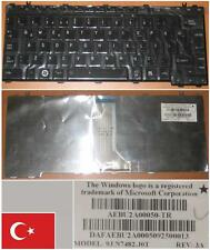 QWERTY KEYBOARD TURKISH TOSHIBA U400 M800 9J.N7482.J0T AEBU2A00050-TR Black