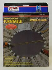 NIB N Atlas #2790 Manual 7.5 in Assembled Turntable