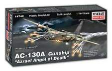 Minicraft 14742 AC130 A AZRAEL ANGEL OF DEATH GUNSHIP AIRCRAFT Model Kit 1/144