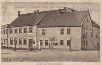 #769 - AK Gruß aus Gutenswegen Gasthof Riemann mit Tankstelle 1940 gel. Marke ab