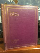 """Rare George Eliot """"Early Essays"""" 1919 Private Press, 220 Copies Printed"""