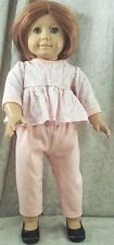 """Doll Clothes Made 2 Fit American Girl 18"""" inch Blouse Ducks Peach Knit Pants"""