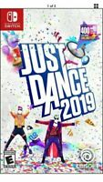 NINTENDO SWITCH JUST DANCE 2019 BRAND NEW SEALED