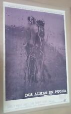 CH1 Original THE RAIN PEOPLE SHIRLEY KNIGHT MOVIE Poster Argentina 1969