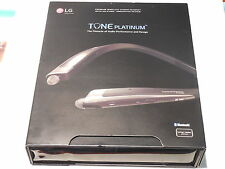 LG TONE PLATINUM HARMAN/KARDON HBS-1100 BLUETOOTH HEADSET (BLACK)
