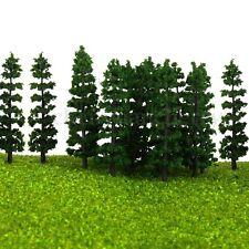 20pcs Trees Model Trains Railway Park Street Scenery Landscape HO Scale 9.5cm