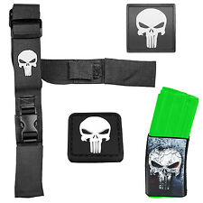 Punisher Combo - 2 Point Tactical Sling + Morale Patch + Mag Wraps + Rail Cover