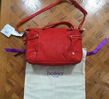 $368 Women's Botkier Coral Flatiron Leather Satchel Handbag