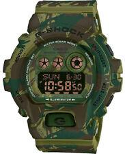 Casio G-Shock digitale Herrenuhr camouflage mehrfarbig Resinband GD-X6900MC-3ER