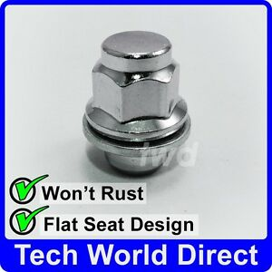 12x1.50 Sumex Anti Theft Locking Wheel Bolt Nuts /& Key to fit Toyota MR2 Avensis