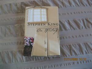 STEPHEN KING A Memoir Of The Craft ON WRITING 2000 HC & DC