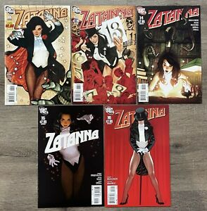 Zatanna #11 13 14 15 16 Adam Hughes Cover Lot, VF/NM, 2011, DC Comics, HTF