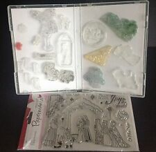 STORAGE CASES X 100 FOR CLEAR/CRAFT STAMPS AND OTHER CRAFT ITEMS - DVD STYLE
