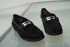 Greenfeld Damen Schuhe Mokassins Slipper wildleder schwarz Gr.38 TOP #10