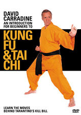 DAVID CARRADINE AN INTRODUCTION FOR BEGINNERS TO KUNG FU & T - DVD - REGION 2 UK