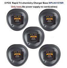 5x Rapid Charger Base For Motorola GP344 GP340 GP328 GP360 EX500 Portable Radio