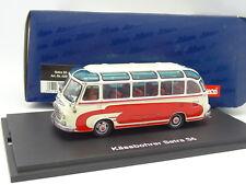 Schuco 1/43 - Car Bus Autocar Kässbohrer Setra S6 Rouge