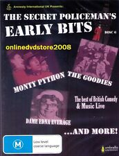 The SECRET POLICEMAN'S EARLY BITS - UK Comedy & LIVE Music DVD NEW Policemans