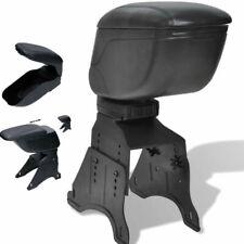 Bracciolo universale poggia braccio portaoggetti car auto simil pelle - nero
