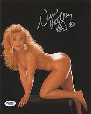 NINA HARTLEY SIGNED AUTO'D 8X10 PHOTO PSA/DNA MILF COUGAR SEXY  XXX PORN STAR
