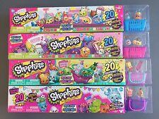 SHOPKINS Season 1 2 3 4 MEGA PACK 1 of Each (Total of 80 Shopkins) 20 pack