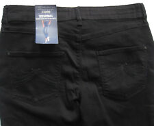 New Womens Marks & Spencer Black Jeggings Size 10 Medium With Tencel DEFECTS