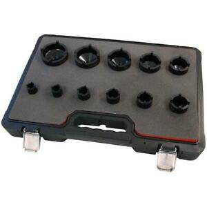 Special Socket Set For Grooved Nuts Castellated Lock Nuts 22-75mm 4231