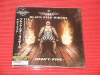2017 BLACK STAR RIDERS Heavy Fire with Bonus Track  JAPAN GATEFOLD MINI LP CD