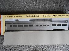 Con-Cor 85' Budd Dome HO Gauge Undecorated Plastic Kit