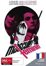 Masculin Feminin (World Classics Collection) NEW R4 DVD
