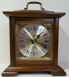 Howard Miller Medford Mantel Clock 612-481,  Dual-Chime, Quartz Mvmt,👍Condition
