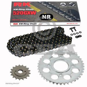 Chain Set Ducati Monster 900 00-01 Chain RK Bl 520 Gxw 98 Black Open 15