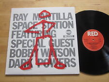 Ray Mantilla Space Station featuring Bobby Watson LP Red Italy Ultrasonic VG++