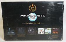 Nintendo Wii Mario Kart Pack Limited Edition! nuevo con embalaje original sellada!! rar! rar!
