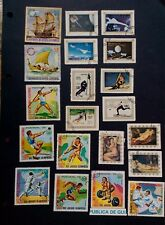 Equatorial Guinea Stamps - 1970's ships, Olympics, paintings, space & air travel