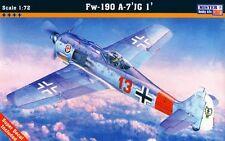 Focke WULF FW 190 A-7 JG 1 (BAR, grislawski, Krebs & Schnoor) 1/72 mistercraft